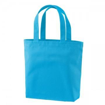 ヘヴィーキャンバストートバッグ(中)ポケット付538.ターコイズブルー