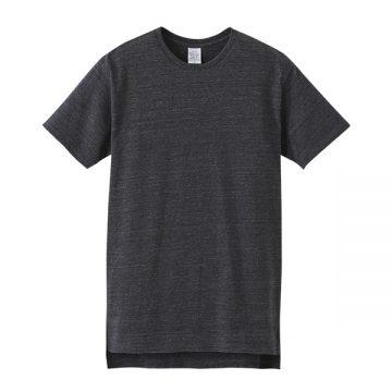 5.6オンスロングレングスTシャツ5009725.ヘザーブラック