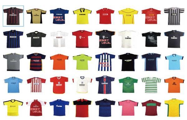 サッカーTシャツ一覧