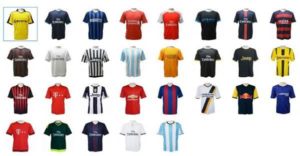 サッカーTシャツ一覧2