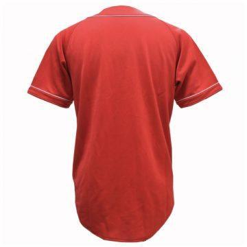 1.野球Tシャツ(レッド×ホワイト)