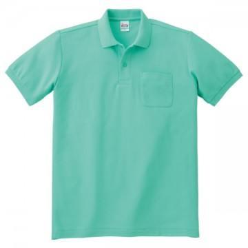 T/Cポロシャツ(ポケット有り)026.ミントグリーン