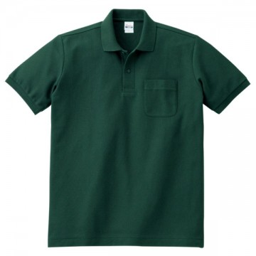 T/Cポロシャツ(ポケット有り)131.フォレスト