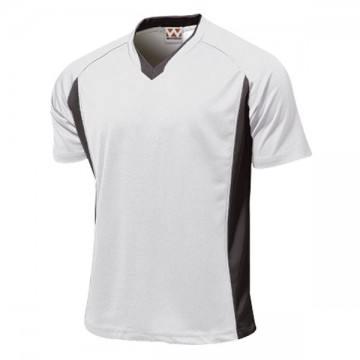 ベーシックサッカーシャツ00.ホワイト