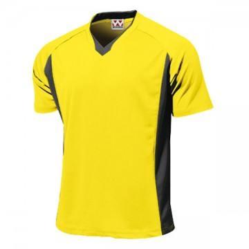 ベーシックサッカーシャツ21.イエロー