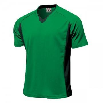 ベーシックサッカーシャツ26.グリーン