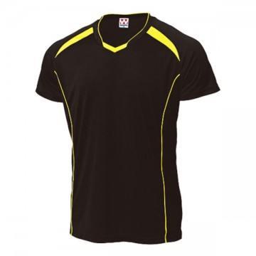 バレーボールシャツ88.ブラック×イエロー