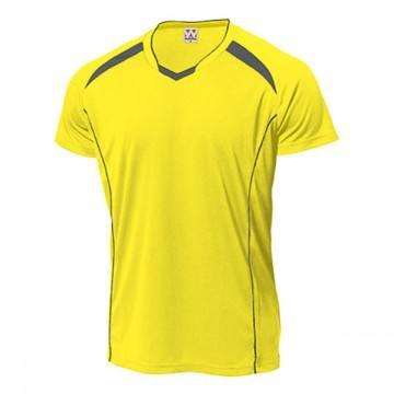 バレーボールシャツ93.イエロー×ダークグレー