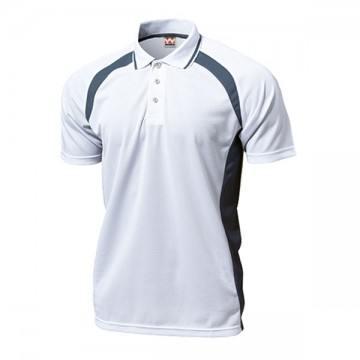 ベーシックテニスシャツ00.ホワイト