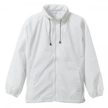 フードインナイロンスタンドジャケット001.ホワイト