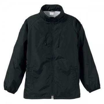 フードインナイロンスタンドジャケット002.ブラック