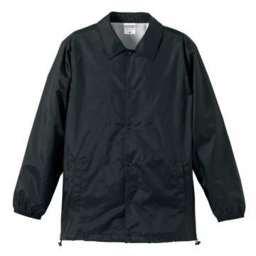 ナイロンコーチジャケット002.ブラック