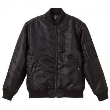 タイプMA-1ジャケット002.ブラック