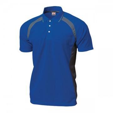 ベーシックテニスシャツ05.ロイヤルブルー