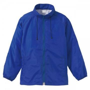 フードインナイロンスタンドジャケット089.ブルー