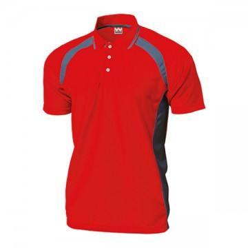 ベーシックテニスシャツ11.レッド