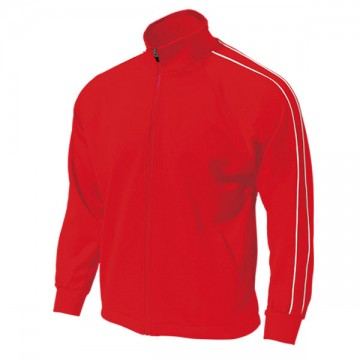 パイピングトレーニングシャツ11.レッド