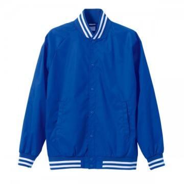 ナイロンスタジアムジャケット4701.ブルー×ホワイト