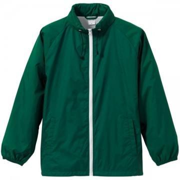 フードインナイロンスタンドジャケット5501.アイビーグリーン×ホワイト