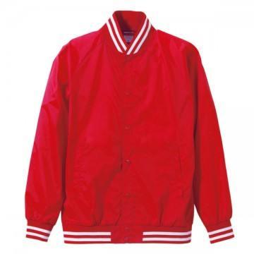 ナイロンスタジアムジャケット5601.レッド×ホワイト