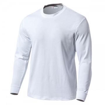 スクール長袖Tシャツ00.ホワイト