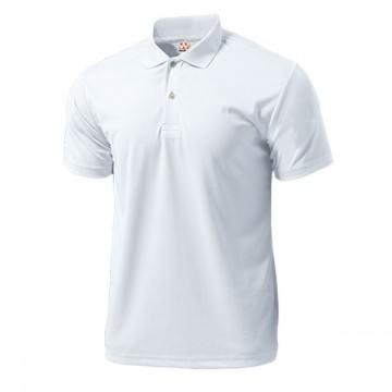 ドライライトポロシャツ00.ホワイト