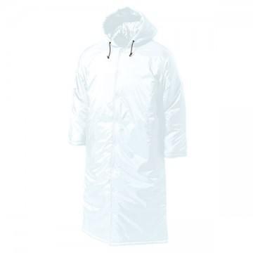 ロング中綿コート00.ホワイト