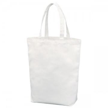 ポリキャンバストートバッグ(Mサイズ)001.ホワイト