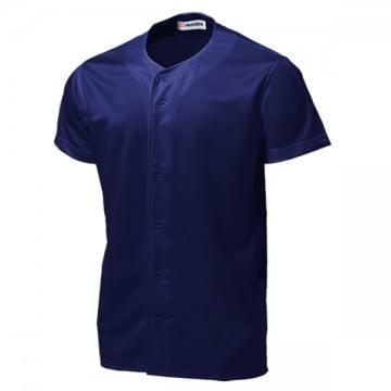 ベーシックボールシャツ01.ネイビー