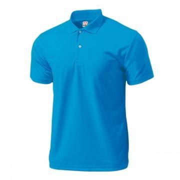 ドライライトポロシャツ02.ターコイズ