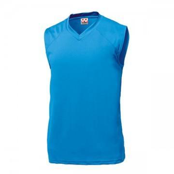 ベーシックバスケットシャツ02.ターコイズ
