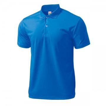 ドライライトポロシャツ03.ブルー