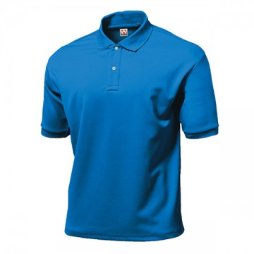 タフドライポロシャツ03.ブルー