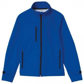 ソフトシェルジャケット030.ブルー