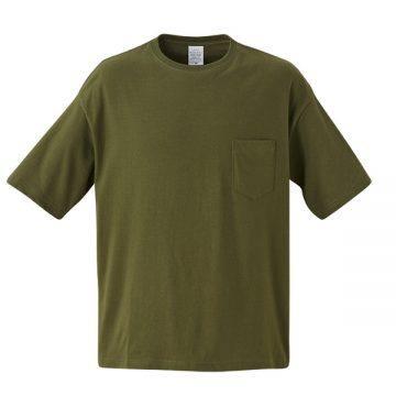 5.6オンスビッグシルエットTシャツ035.シティグリーン