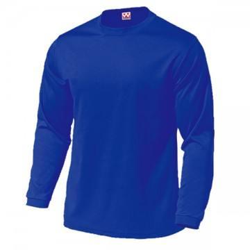 ドライライト長袖Tシャツ05.ロイヤルブルー