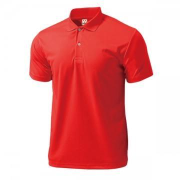 ドライライトポロシャツ11.レッド