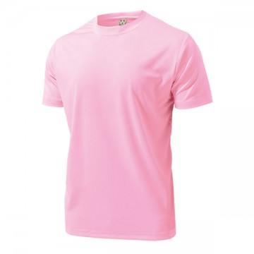 ドライライトTシャツ13.ライトピンク