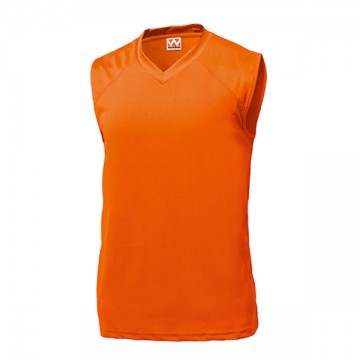 ベーシックバスケットシャツ15.オレンジ