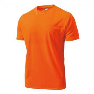 ドライライトTシャツ15.オレンジ