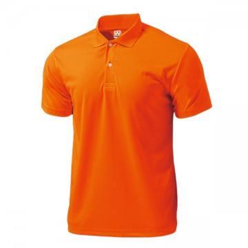ドライライトポロシャツ15.オレンジ