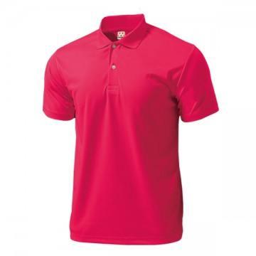 ドライライトポロシャツ17.ブライトピンク