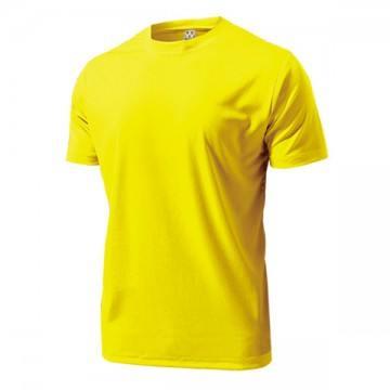 ドライライトTシャツ21.イエロー