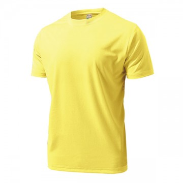 ドライライトTシャツ23.クリームイエロー