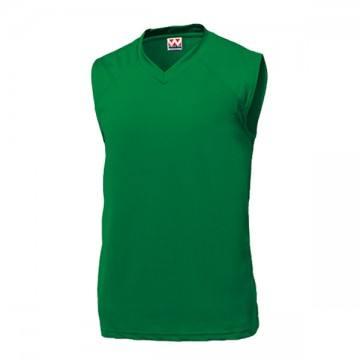 ベーシックバスケットシャツ26.グリーン