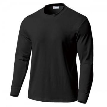 スクール長袖Tシャツ34.ブラック