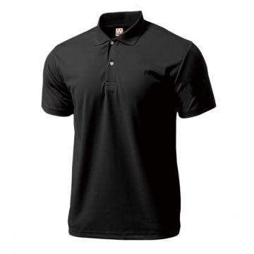 ドライライトポロシャツ34.ブラック