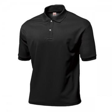 タフドライポロシャツ34.ブラック