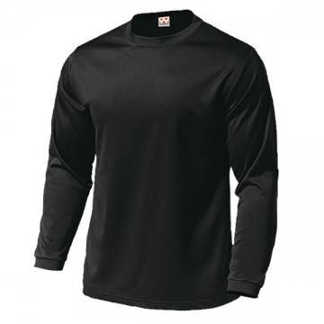 ドライライト長袖Tシャツ34.ブラック