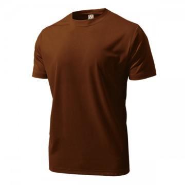 ドライライトTシャツ52.ブラウン